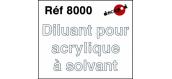 Modélisme ferroviaire : DECAPOD DECA8000 - Diluant pour acrylique à solvant