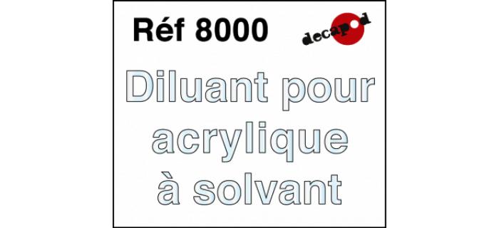 Modélisme ferroviaire : DECAPOD DECA8032 - Diluant pour acrylique à solvant
