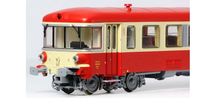 LS MODELS 10038 - Autorail diesel EAD X4300 + XR8300 DIGITAL SON SNCF dépôt de Nantes