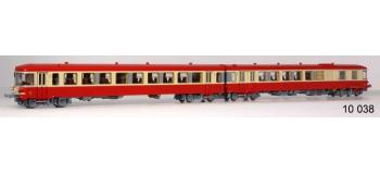Train électrique : LS MODELS 10038 - Autorail diesel EAD X4300 + XR8300 DIGITAL SON SNCF dépôt de Nantes