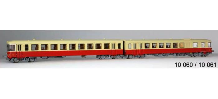 Train électrique : LS MODELS 10060S - Autorail diesel EAD X4300 + XR8300 SNCF DIGITAL SON dépôt de Nice