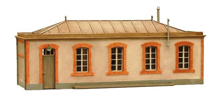 Train électrique : ARTITEC ART10228 - Kit de remise et lanterne 1/87