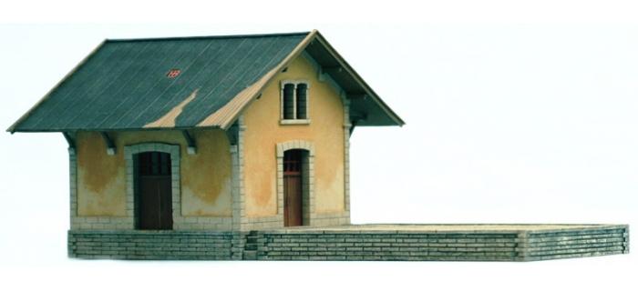 Train électrique : ARTITEC ART10247 - bâtiment de dépôt 1/87