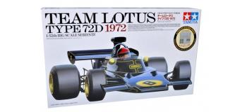 Maquettes : TAMIYA TAM12046 - Lotus Type 72D 1972
