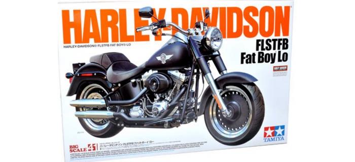 Maquettes : TAMIYA TAM16041 - Harley Davidson Fat Boy Lo