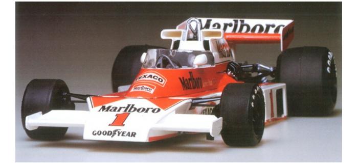 Maquettes : TAMIYA TAM20062 - McLaren M23 1976 - James HUNT