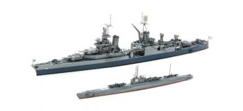 Maquettes : TAMIYA TAM25119 - Croiseur Indianapolis + I-58