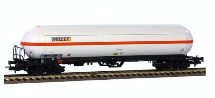 Train électrique : LS MODEL -LSM30186 - Wagon citerne MILLET