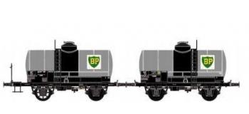 Train électrique : LS MODELS 330441 - Set deux wagons citernes