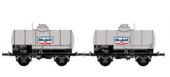 Train électrique : LS MODELS 330445 - Set deux wagons citernes