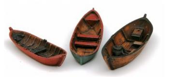 Train électrique : ARTITEC ART31604 - Barques anciennes (3 pièces) 1/ 160