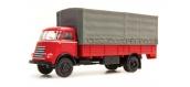 Train électrique : ARTITEC ART48704001 - Camion porteur DAF rouge 1/ 87