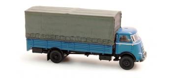Train électrique : ARTITEC ART48704101 - Camion porteur DAF bleu 1/ 87