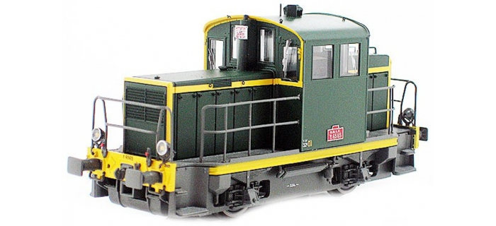 Train électrique : EURO PASSION MODELS EPM123306 - Locotracteur diesel Y-6565