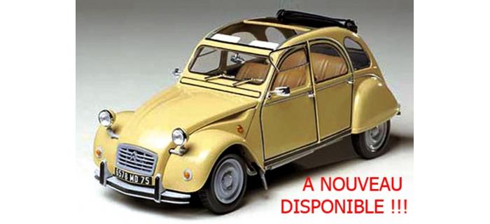 Maquettes : TAMIYA TAM89654 - Citroën 2CV