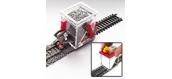 Modélisme ferroviaire : PROSES BS-HO-03 - Épandeur de ballast avec application de colle