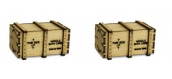 Modélisme ferroviaire : PROSES HL-K-01 - Caisses de transport pour wagons plats