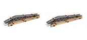 Modélisme ferroviaire : PROSES HL-K-03 - pièves d'ailes d'avions pour wagons plats