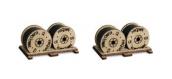 Modélisme ferroviaire : PROSES HL-K-05 - Rouleaux de câbles pour wagons plats
