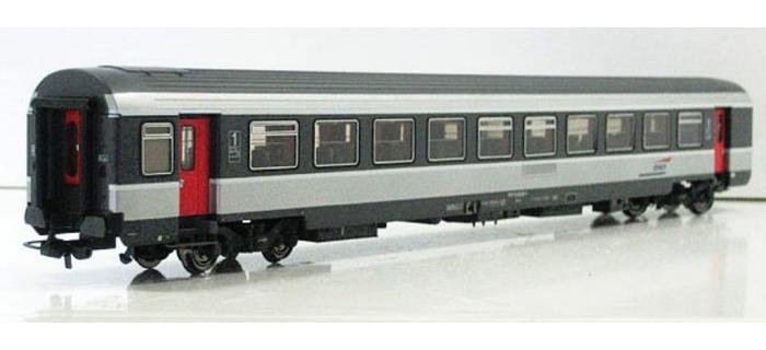 Train électrique : LS MODEL -LSM40163 - Voiture première classe corail