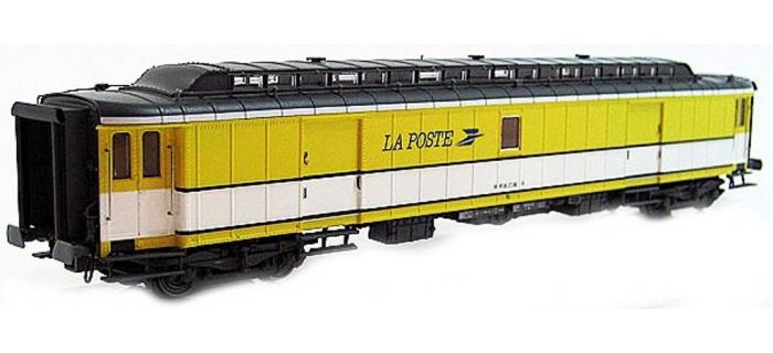LS MODEL -LSM40417 - Voiture OCEM livrée jaune/blanc, toit gris, logo