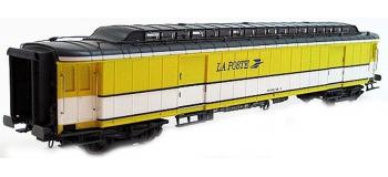 LS MODEL -LSM40418 - Voiture OCEM livrée jaune/blanc, toit gris, logo
