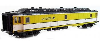 LS MODEL -LSM40419 - Voiture OCEM livrée jaune/blanc, toit gris, logo