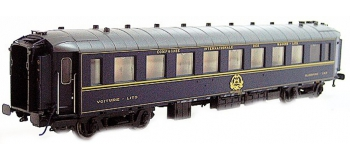 Modélisme ferroviaire : LS MODEL -LSM49128 - Voiture voyageurs WL F bleu CIWL