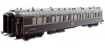 Modélisme ferroviaire : LS MODEL -LSM49141 - Voiture voyageurs WL SG livrée bleu 1956