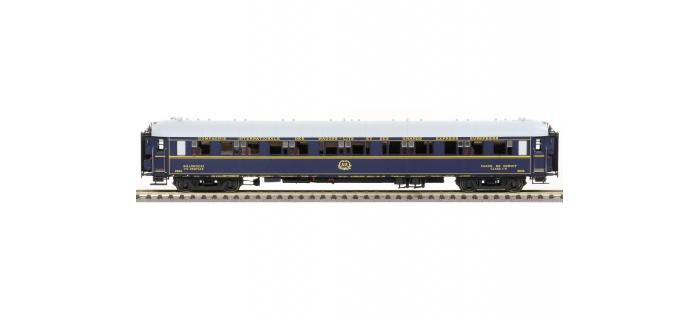 Modélisme ferroviaire : LS MODELS 49144 - Voiture voyageurs WL SG livrée bleu 1935