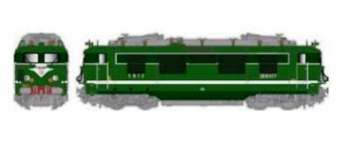 LS MODEL -LSM10153S - Locomotive électrique BB 16677 livrée verte digital son