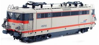 Train électrique : LS MODEL LSM10165S - Locomotive électrique BB 16745 livrée gris béton/orange digital son