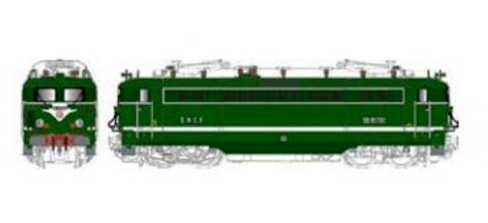 LS MODEL LSM10167S - Locomotive électrique BB 16710 livrée vert digital son