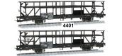 Modélisme ferroviaire : Wagon porte auto GEFCO, SNCF