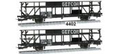 Modélisme ferroviaire : MAKETTE - MA4402 - Wagon porte auto GEFCO, SNCF