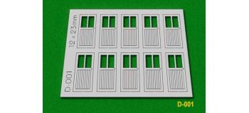 Modélisme ferroviaire : PROSES D-001 - Portes