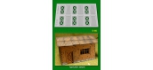 Modélisme ferroviaire : PROSES D-003 - Portes de cottage