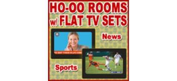 Modélisme ferroviaire : PROSES LS-001 - 2 chambres décorées avec télévision à écran plat