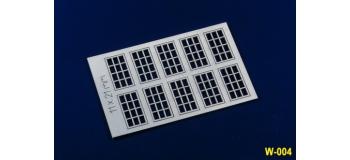Modélisme ferroviaire : PROSES W-004 - fenêtres rectangulaires