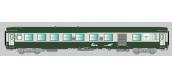 Modélisme ferroviaire : COLLECTION R37- R37-HO42008 - Voiture voyageurs UIC - B5D - Série 1