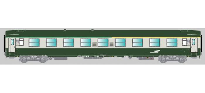 Modélisme ferroviaire : COLLECTION R37- R37-HO420015 - Voiture voyageurs UIC - A4B5 (exA9) - Série 1