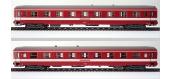 Modélisme ferroviaire : R37- R37-HO42055 - Voiture voyageurs UIC