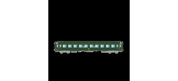 Modélisme ferroviaire : R37 - R37-HO42100 - Voiture voyageurs UIC B9c9x 51 87 59 70 607-1 - Gérance : PARIS CONFLANS - Région SUD-EST