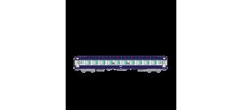 Modélisme ferroviaire : R37 - R37-HO42114 - Voiture voyageurs UIC B9c9x 51 87 5970 732-7 - Ep IV/V Gérance : PARIS MASSENA - Région SUD-OUEST