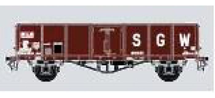 Modélisme ferroviaire : COLLECTION R37-HOP43006C - Coffret de 2 tombereaux TH30 SGW Ep. III  SWw 5575944 + SWw 557593