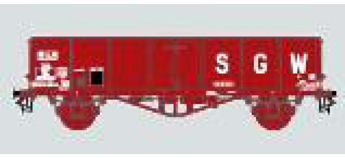 Modélisme ferroviaire : COLLECTION R37-HOP43006C - Coffret de 2 tombereaux TH30 SGW Ep. III  SWw 5575956 + SWw 5575901
