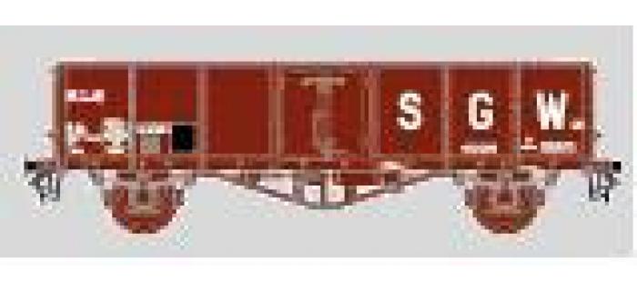 Modélisme ferroviaire : COLLECTION R37-HOP43006C - Coffret de 2 tombereaux TH30 SGW Ep. IV  El 882-3 + El 068-9