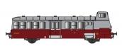 Modélisme ferroviaire : R37 Collection R37-HO41001 - Autorail X5625 versions à faces lisses, dépôt Orléans (rouge rubis) Ep IIIa