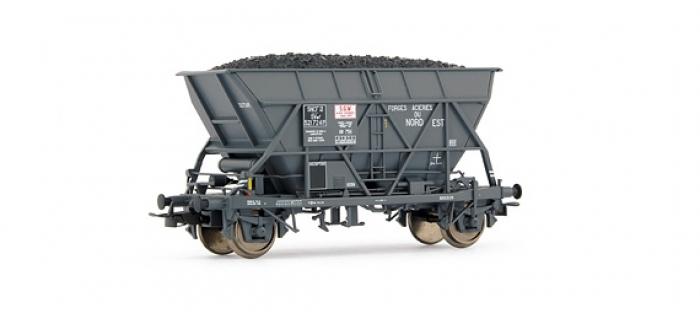 EL0916 WAGON TREMIE SNCF 2 essieux