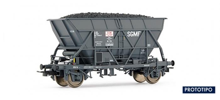 EL0919 WAGON TREMIE EF 30 SNCF - 2 ESSIEUX